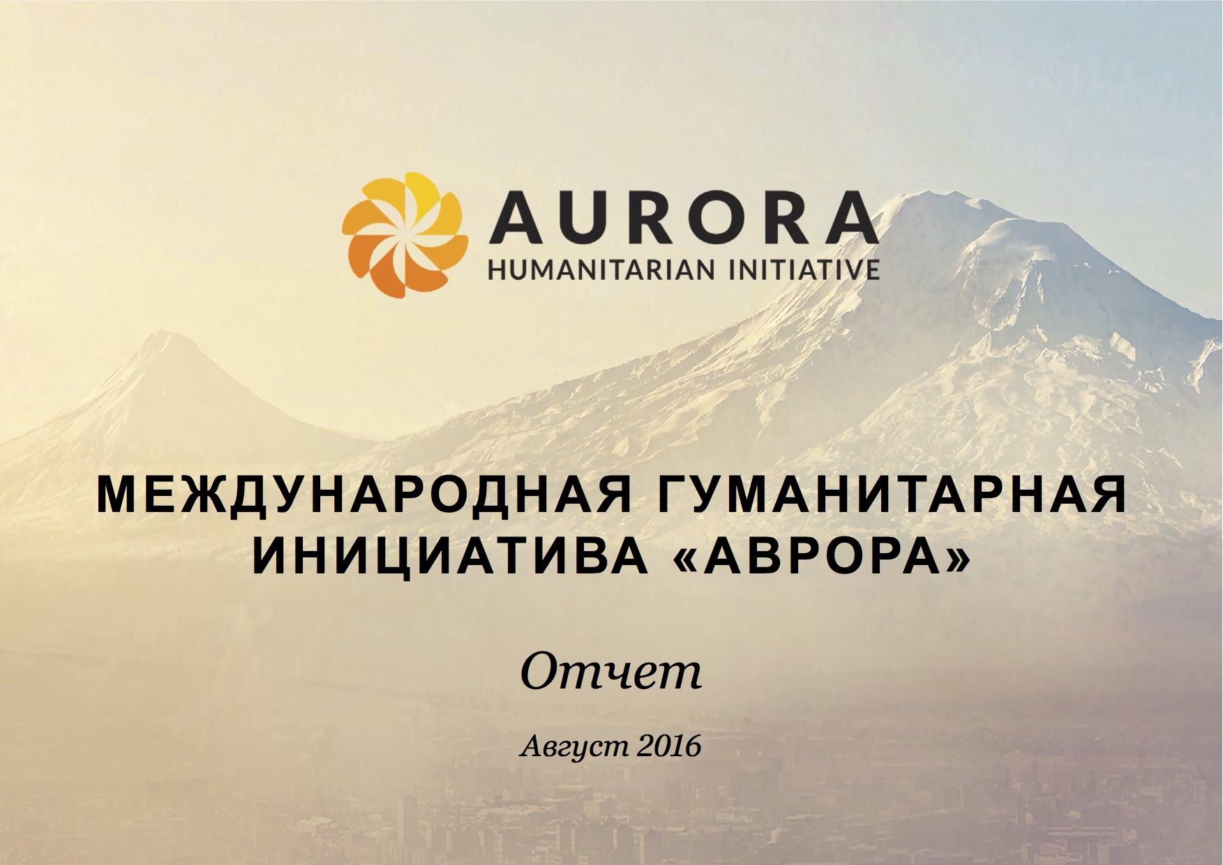 Rus aurora initiative public report